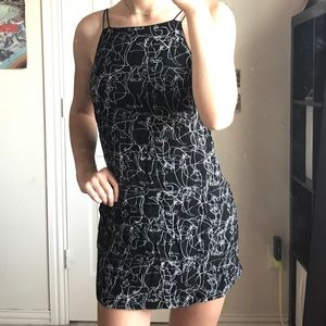 Patterned Cutout Urban Outfitters Dress